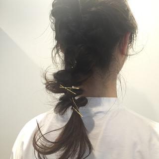 大人女子 ストリート 簡単ヘアアレンジ ヘアアレンジ ヘアスタイルや髪型の写真・画像