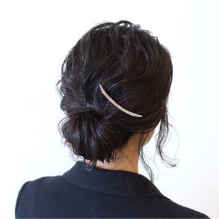 パーマ パーティ ナチュラル ヘアアレンジ ヘアスタイルや髪型の写真・画像