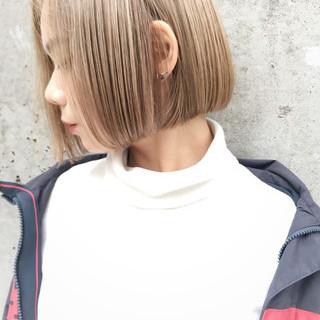 ボブ 大人女子 外国人風 モード ヘアスタイルや髪型の写真・画像