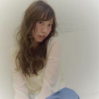 色気 大人女子 フェミニン ロング ヘアスタイルや髪型の写真・画像