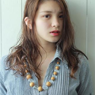 ロング 上品 女子力 ゆるふわ ヘアスタイルや髪型の写真・画像