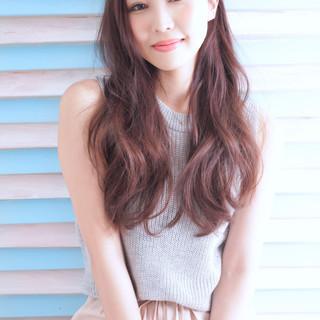 外国人風カラー イルミナカラー ワンカール パーマ ヘアスタイルや髪型の写真・画像 ヘアスタイルや髪型の写真・画像
