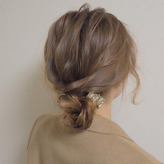 モテ髪 ヘアアレンジ ショート 愛され ヘアスタイルや髪型の写真・画像