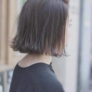 デート ナチュラル イルミナカラー オルチャン ヘアスタイルや髪型の写真・画像