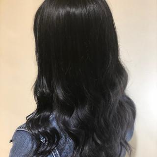 アッシュグレージュ ナチュラル セミロング 簡単ヘアアレンジ ヘアスタイルや髪型の写真・画像