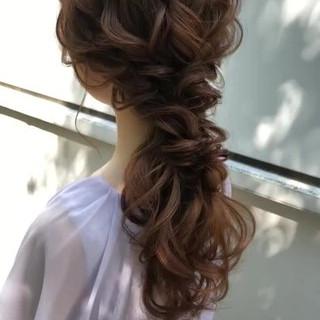 大人かわいい ヘアアレンジ ゆるナチュラル おしゃれさんと繋がりたい ヘアスタイルや髪型の写真・画像
