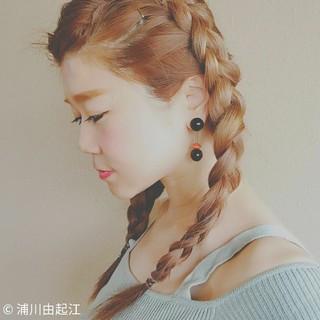 フェミニン 外国人風カラー ゆるふわ デート ヘアスタイルや髪型の写真・画像