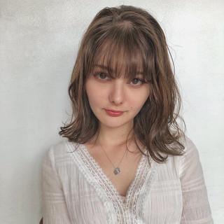 デート パーマ ナチュラル 簡単ヘアアレンジ ヘアスタイルや髪型の写真・画像