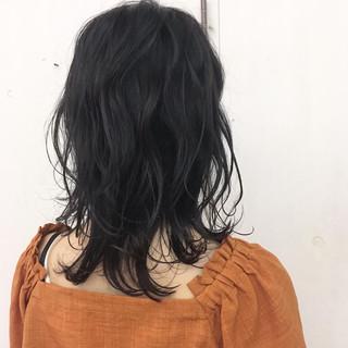 ストリート ブルージュ ダークアッシュ グレー ヘアスタイルや髪型の写真・画像
