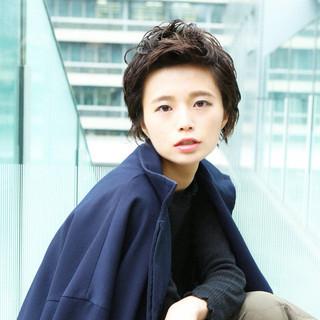 ウルフカット モード 阿藤俊也 ショート ヘアスタイルや髪型の写真・画像