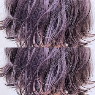 外国人風カラー ハイトーン ボブ 透明感 ヘアスタイルや髪型の写真・画像 ヘアスタイルや髪型の写真・画像