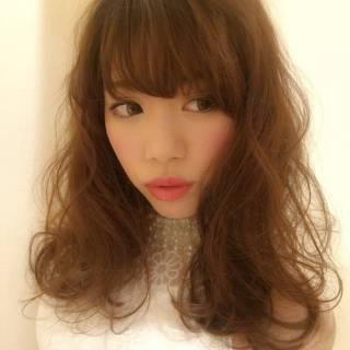 愛され コンサバ モテ髪 ロング ヘアスタイルや髪型の写真・画像