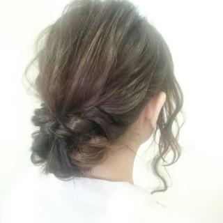 外国人風 大人女子 ヘアアレンジ ショート ヘアスタイルや髪型の写真・画像