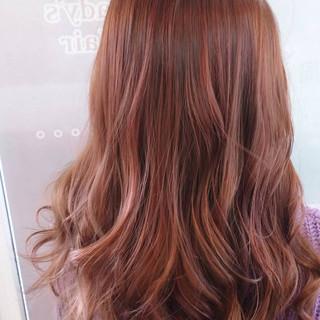 ピンクパープル ガーリー ピンクラベンダー ラベンダー ヘアスタイルや髪型の写真・画像