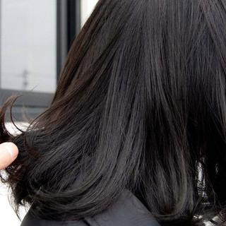 グレーアッシュ ナチュラル アッシュグレー ボブ ヘアスタイルや髪型の写真・画像