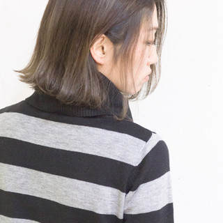ストリート こなれ感 ボブ グラデーションカラー ヘアスタイルや髪型の写真・画像