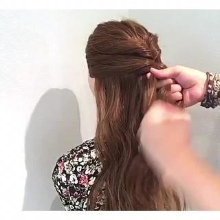 フェミニン 色気 涼しげ 夏 ヘアスタイルや髪型の写真・画像