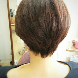 大人かわいい フェミニン ショート ナチュラル ヘアスタイルや髪型の写真・画像 ヘアスタイルや髪型の写真・画像