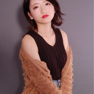 村井優紀さんのヘアスナップ