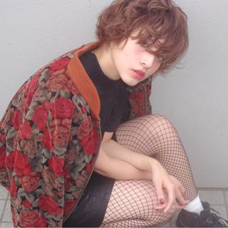 色気 小顔 大人女子 ミルクティー ヘアスタイルや髪型の写真・画像