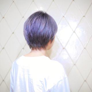ブリーチ ストリート ハイトーン ショート ヘアスタイルや髪型の写真・画像
