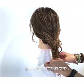 リラックス デート オフィス ナチュラル ヘアスタイルや髪型の写真・画像