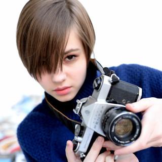 アッシュ 大人かわいい ボブ ショートボブ ヘアスタイルや髪型の写真・画像