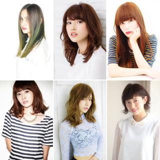 秋 ヘアアレンジ 外国人風カラー デート ヘアスタイルや髪型の写真・画像