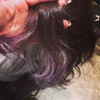 グラデーションカラー ラベンダーピンク ピンク 外国人風カラー ヘアスタイルや髪型の写真・画像