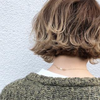 グラデーションカラー デート ナチュラル こなれ感 ヘアスタイルや髪型の写真・画像