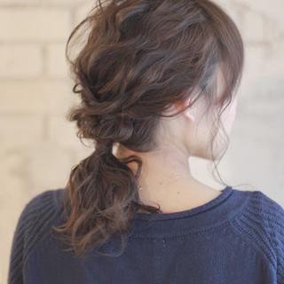 結婚式 ショート フェミニン パーティ ヘアスタイルや髪型の写真・画像