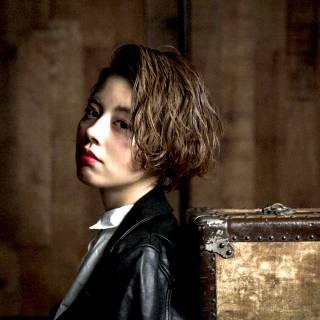 ウェーブ 暗髪 モード ストレート ヘアスタイルや髪型の写真・画像 ヘアスタイルや髪型の写真・画像