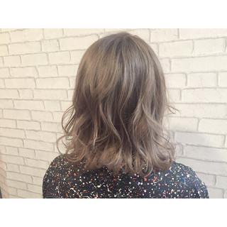 渋谷系 アッシュ ブラウン 外国人風 ヘアスタイルや髪型の写真・画像
