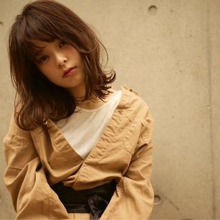 暗髪 ストリート 大人かわいい 大人女子 ヘアスタイルや髪型の写真・画像