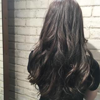 グラデーションカラー 渋谷系 外国人風 フェミニン ヘアスタイルや髪型の写真・画像