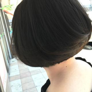 大人女子 かっこいい 内巻き ストレート ヘアスタイルや髪型の写真・画像