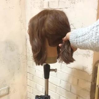 ショート ボブ ヘアアレンジ ポニーテール ヘアスタイルや髪型の写真・画像