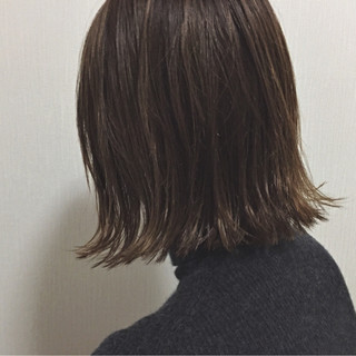 外国人風 ボブ ナチュラル ロブ ヘアスタイルや髪型の写真・画像