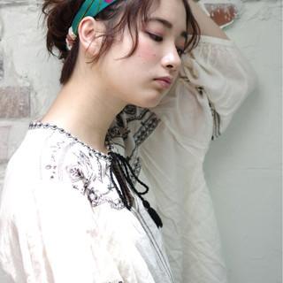 ヘアアレンジ ストリート 外国人風 簡単ヘアアレンジ ヘアスタイルや髪型の写真・画像 ヘアスタイルや髪型の写真・画像