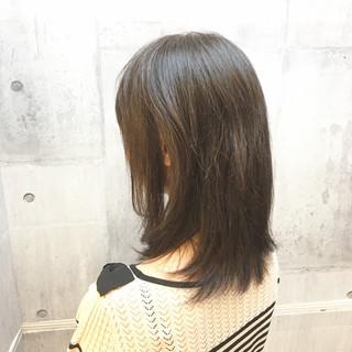 冬 オフィス コンサバ 白髪染め ヘアスタイルや髪型の写真・画像 ヘアスタイルや髪型の写真・画像