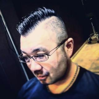パーマ メンズ ボーイッシュ 坊主 ヘアスタイルや髪型の写真・画像