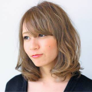 大人かわいい ゆるふわ コンサバ モテ髪 ヘアスタイルや髪型の写真・画像