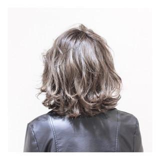 大人女子 ナチュラル ストリート ボブ ヘアスタイルや髪型の写真・画像
