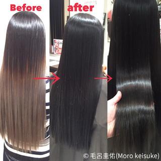 アッシュ 暗髪 エレガント ダークアッシュ ヘアスタイルや髪型の写真・画像 ヘアスタイルや髪型の写真・画像