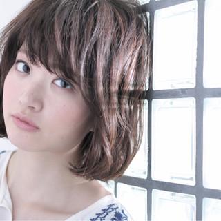 色気 デート パーマ 黒髪 ヘアスタイルや髪型の写真・画像