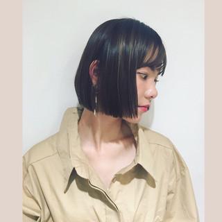 東 公美さんのヘアスナップ