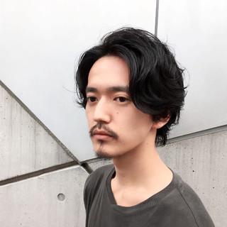 ショート モテ髪 ミディアム ボーイッシュ ヘアスタイルや髪型の写真・画像