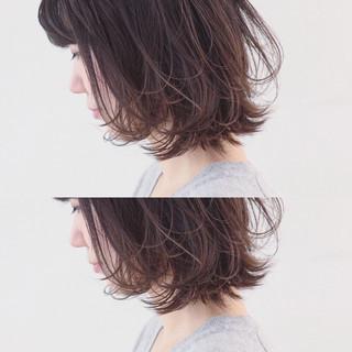 グラデーションカラー ボブ 外国人風カラー 外ハネ ヘアスタイルや髪型の写真・画像