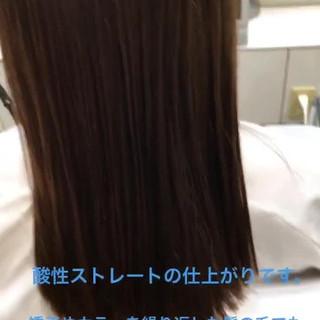 簡単ヘアアレンジ パーマ セミロング ヘアアレンジ ヘアスタイルや髪型の写真・画像