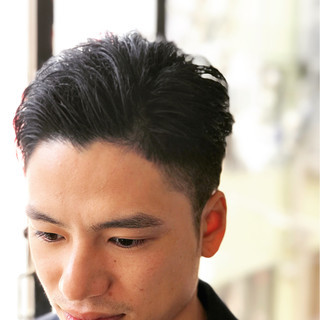 黒髪 ショート ボーイッシュ 外国人風 ヘアスタイルや髪型の写真・画像